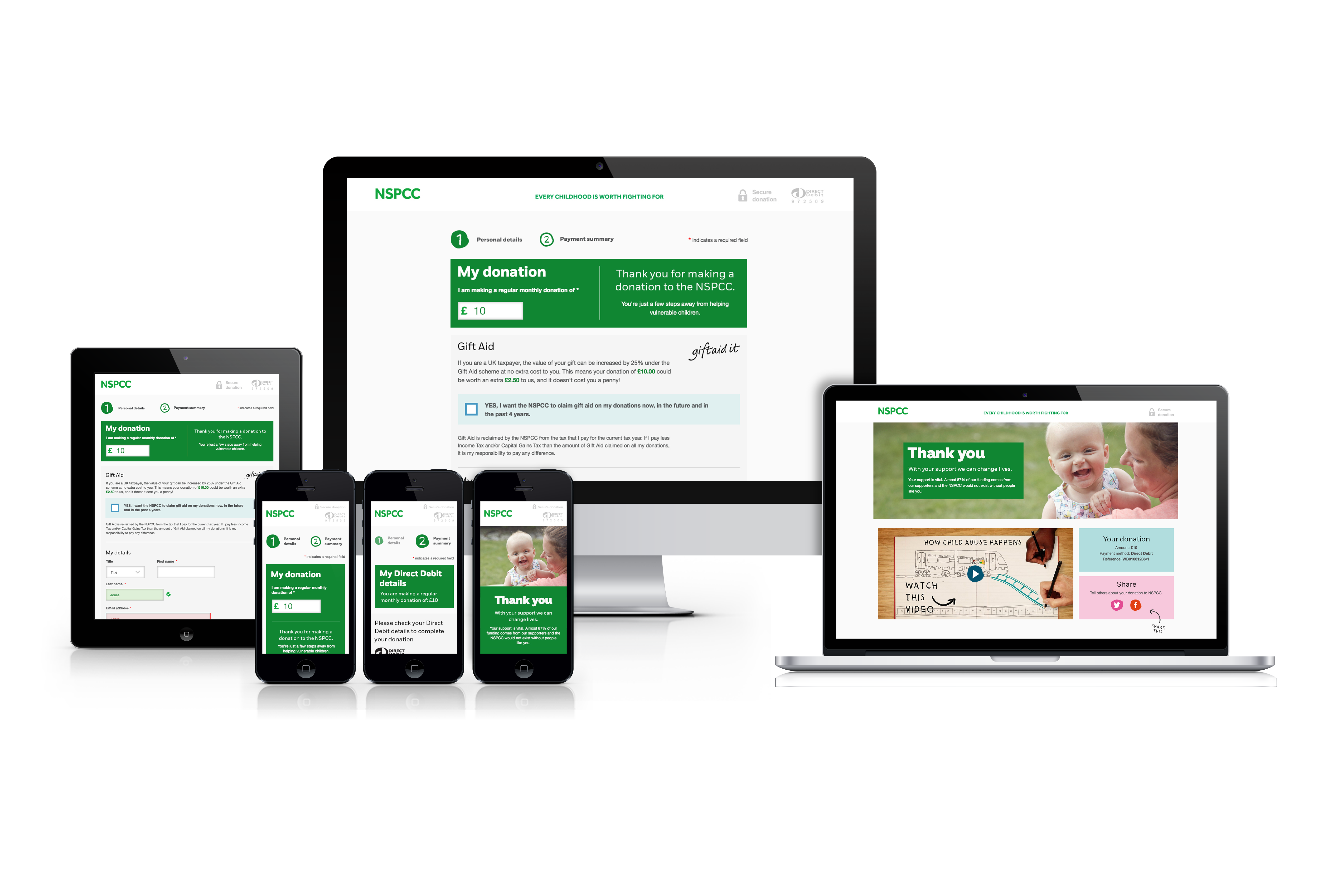NSPCC elearning website